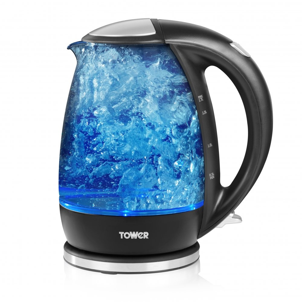 Tower Glass Kettle t10004 1.7litre 2200w