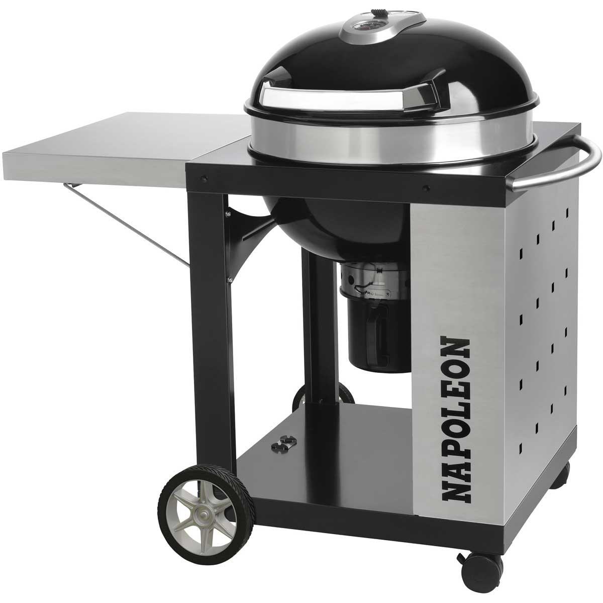 Napoleon PRO22K-CART-2 Charcoal Kettle BBQ
