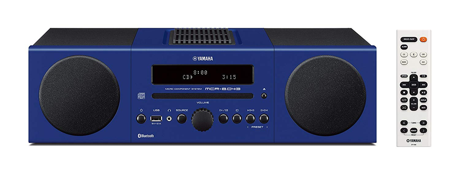 Yamaha MCRB043D Micro Stereo System - Blue