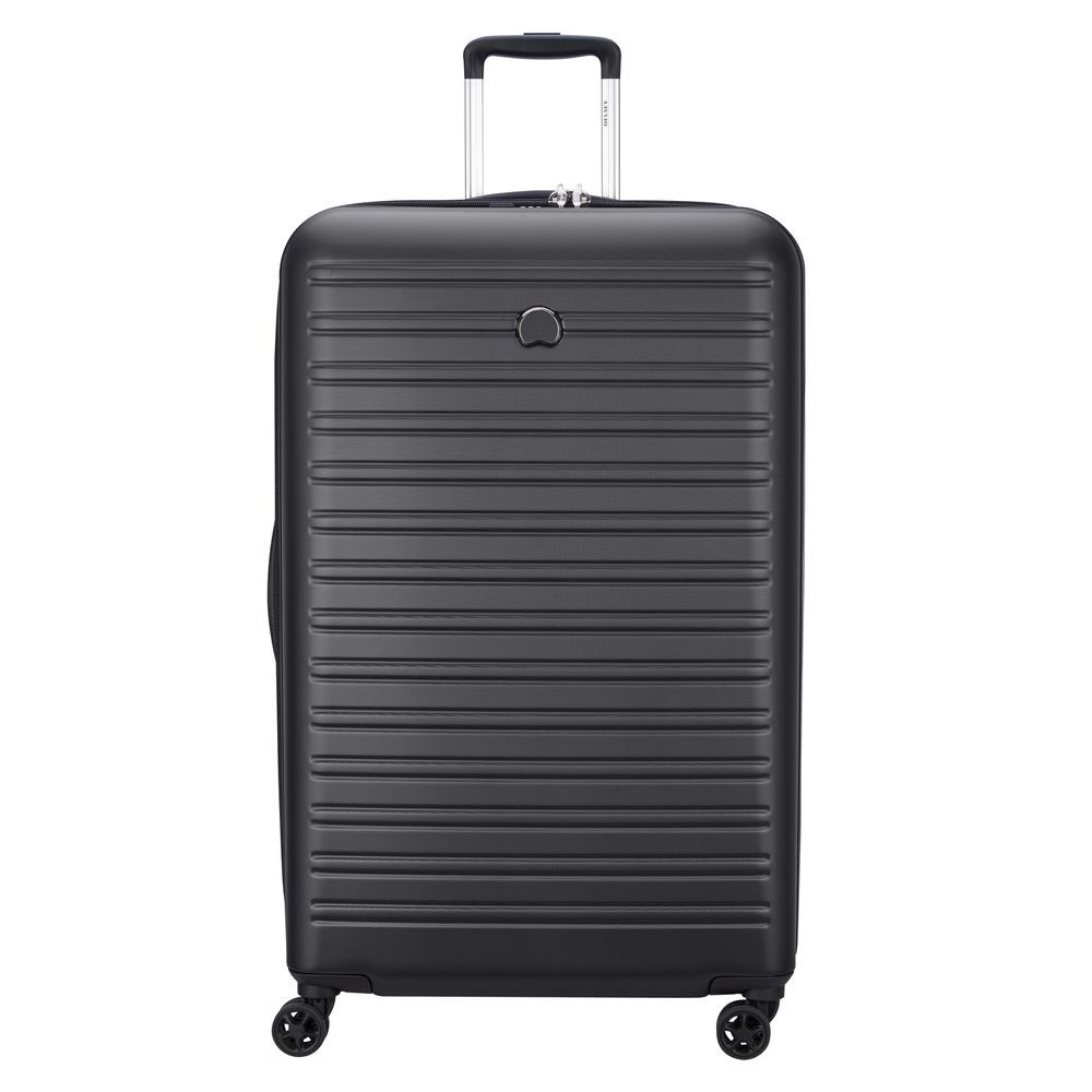 Delsey Segur 2.0 4 Wheel Cabin Suitcase - 81cm - Black 463613