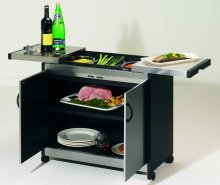 Hostess HL6232BS Connoisseur Hostess Trolley