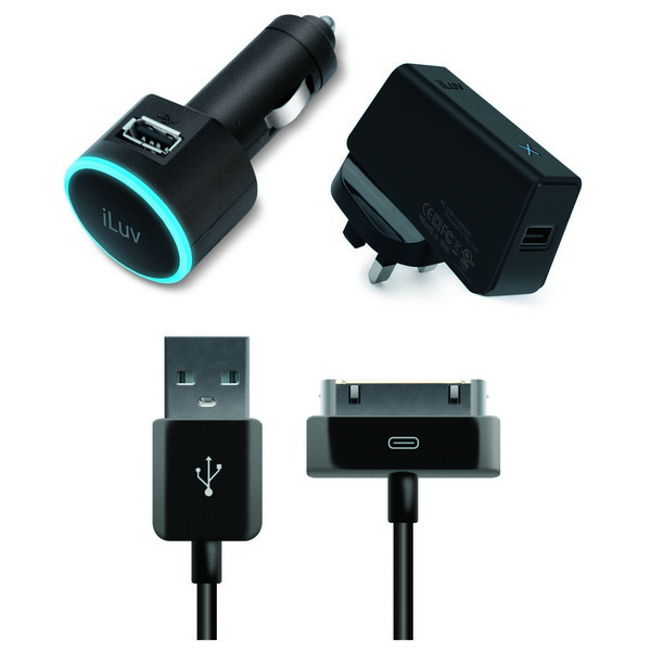 iLuv IAD564 USB Car and Wall Charger