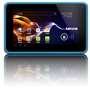 Lenco Cooltab 70 Blue 7 inch Tablet