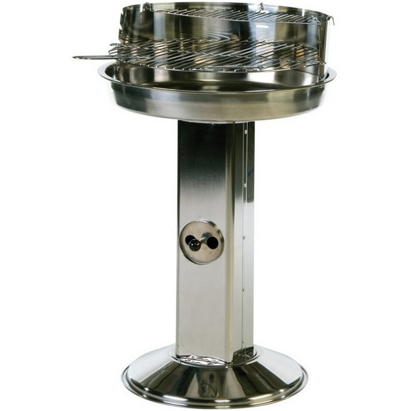 Lifestyle Stainless Steel Pedestal Charcoal BBQ LFS251