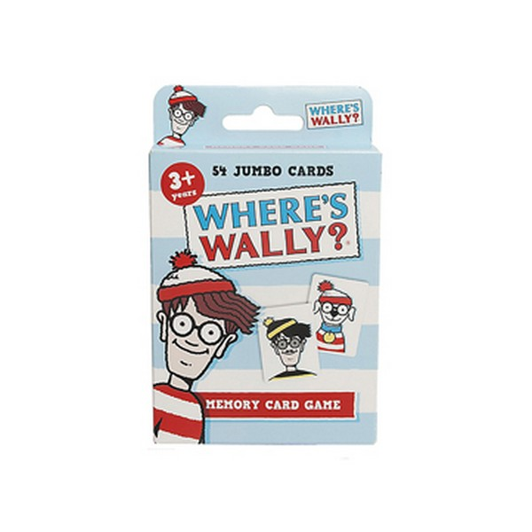 Paul Lamond PLG4015 Wheres Wally Memory Card Game
