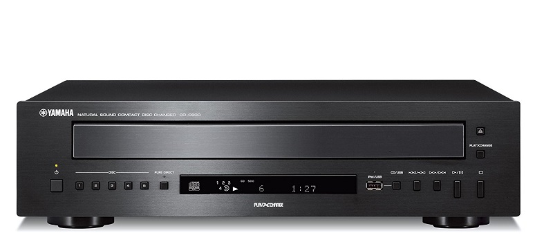 Yamaha CDC-600 5-Disc CD Changer - Black