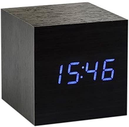 Ging-ko Maxi Cube Click Clock Black - 316866