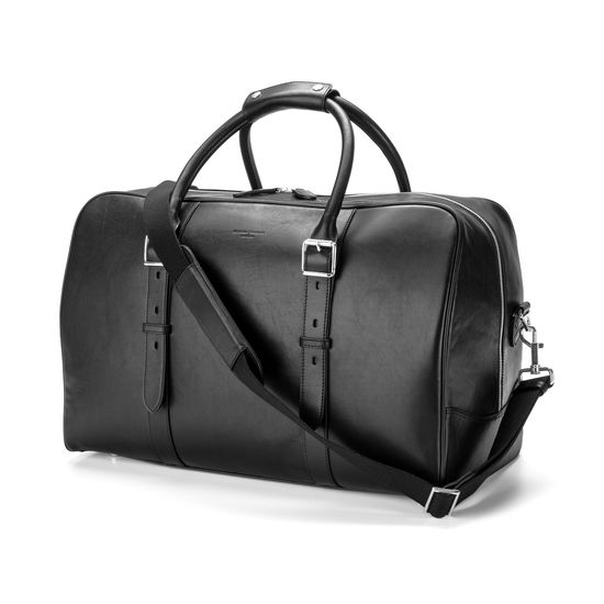 Aspinal Harrison Weekender Travel Bag Black 025-1517