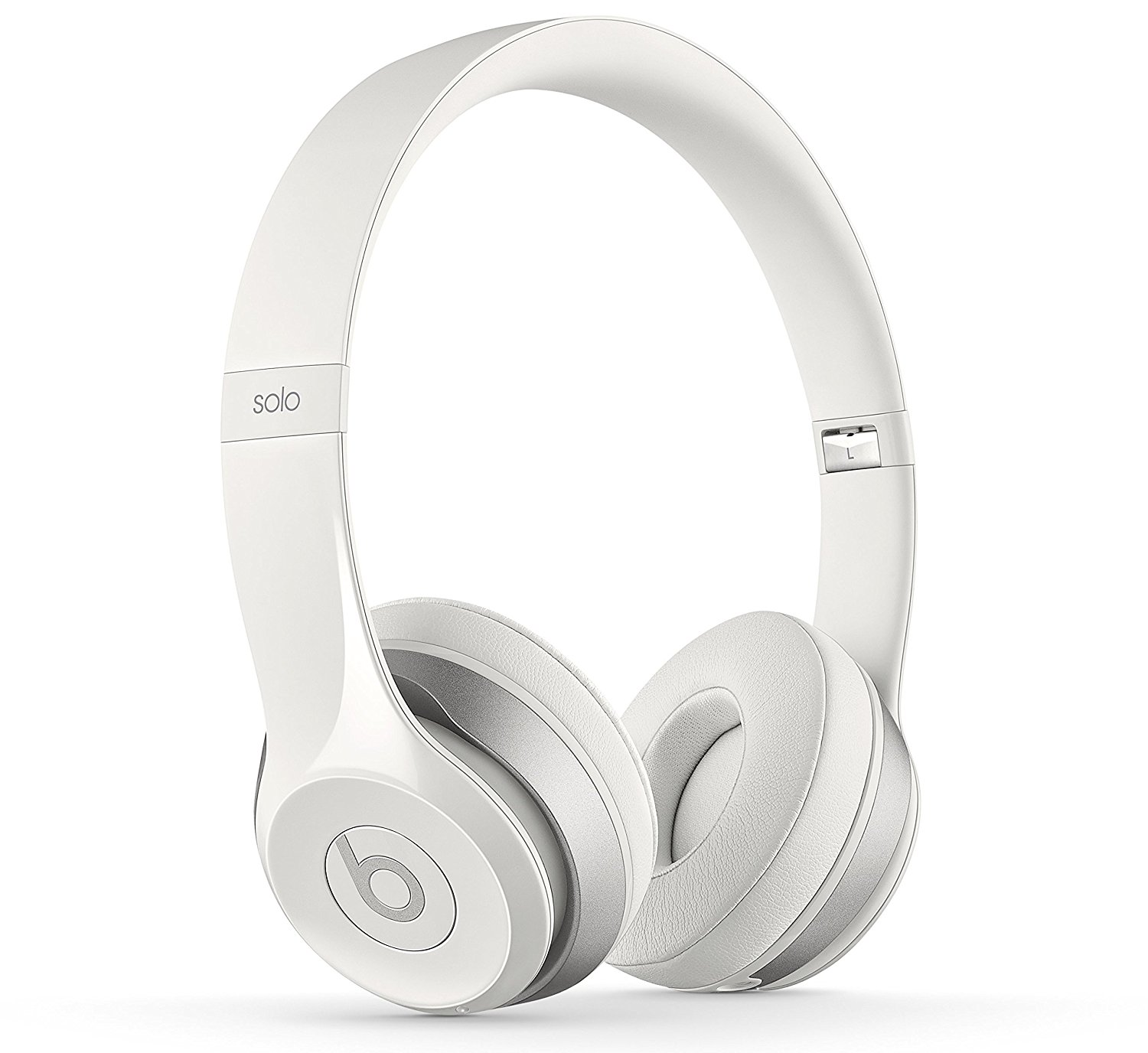 Beats MH8X2ZM-A Solo 2 White Headphones Wired
