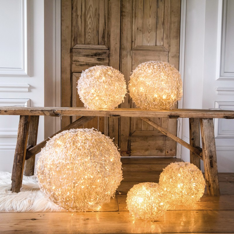 Culinary Concepts HL-LEDBL-SML Christmas LED Ball Small