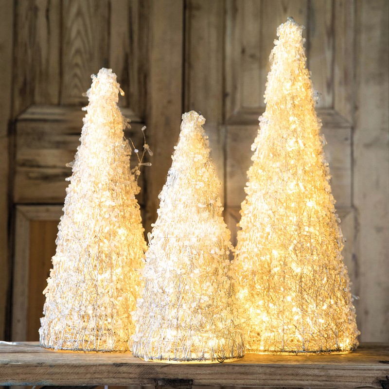 Culinary Concepts HL-LEDCNE-LGE Christmas LED Cone Large