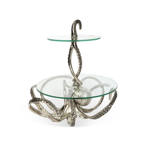 Culinary Concepts OCT-41960 Octopus 2 Tier Stand