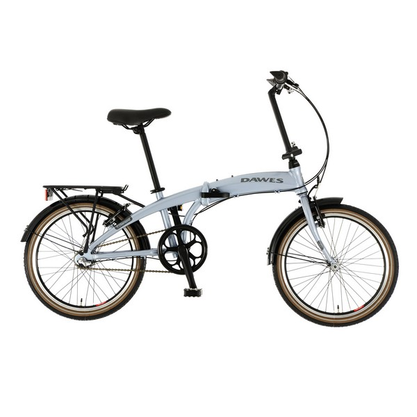 Dawes 360020 Diamond Silver Folding Bike