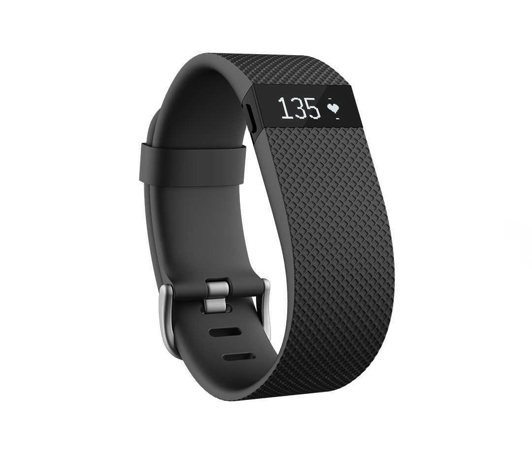 Fitbit FB405BKS Charge HR Activity And Sleep Tracker Black Small
