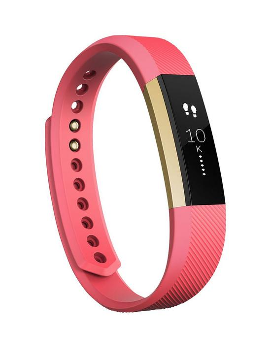 Fitbit FB406GPKL Alta Activity Tracker Gold Pink Large