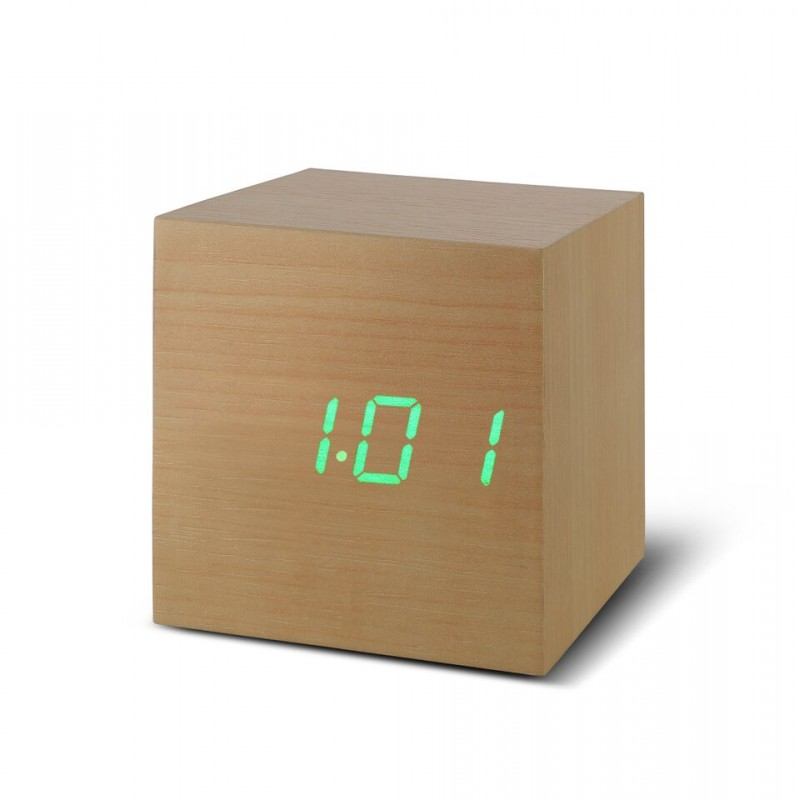 Gingko GK08G11 Cube Click Clock Alarm Mail Order Return