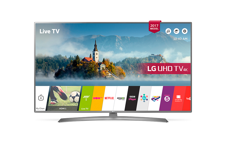LG 43UJ670V 43 Inch Smart 4K LED TV