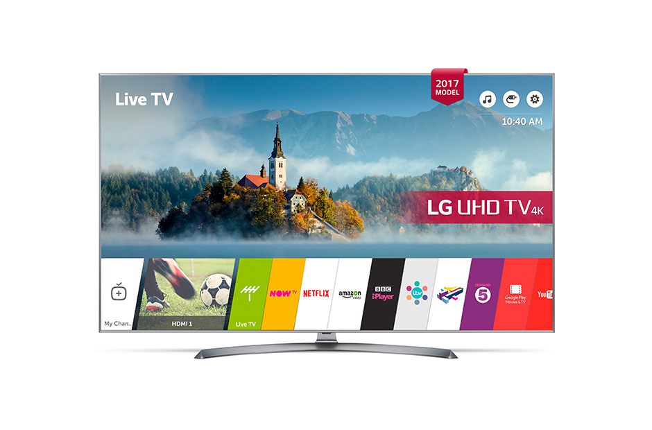 LG 43UJ750V 43 Inch Smart 4K LED TV