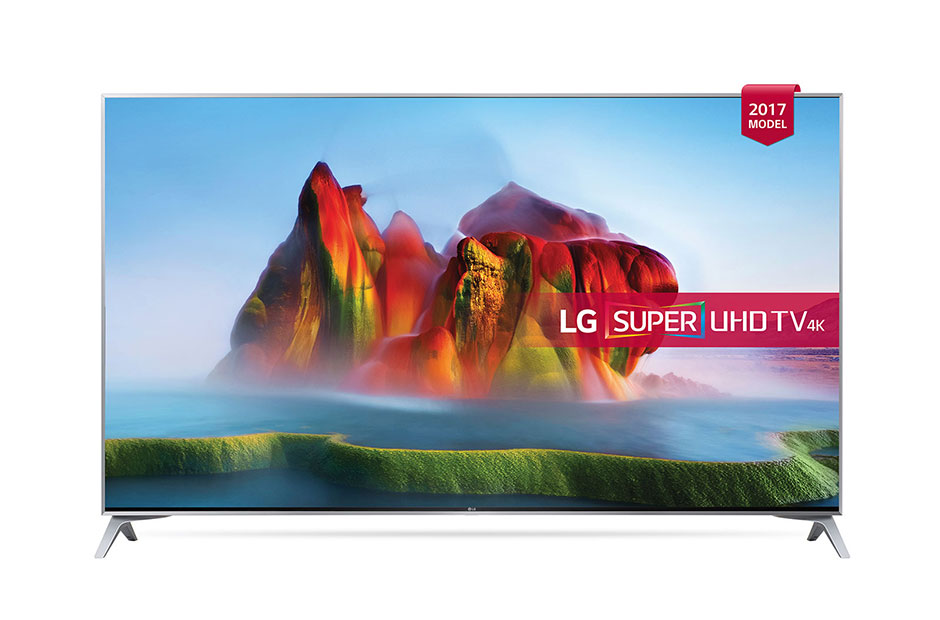 LG 55SJ800V 55 Inch Smart UHD 4K LED TV