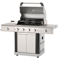Lifestyle Stainless Steel 4+2 Burner Hooded Gas BBQ LFS685