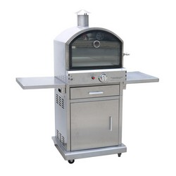 Lifestyle LFS690 Milano Deluxe Pizza Oven Stainless Steel
