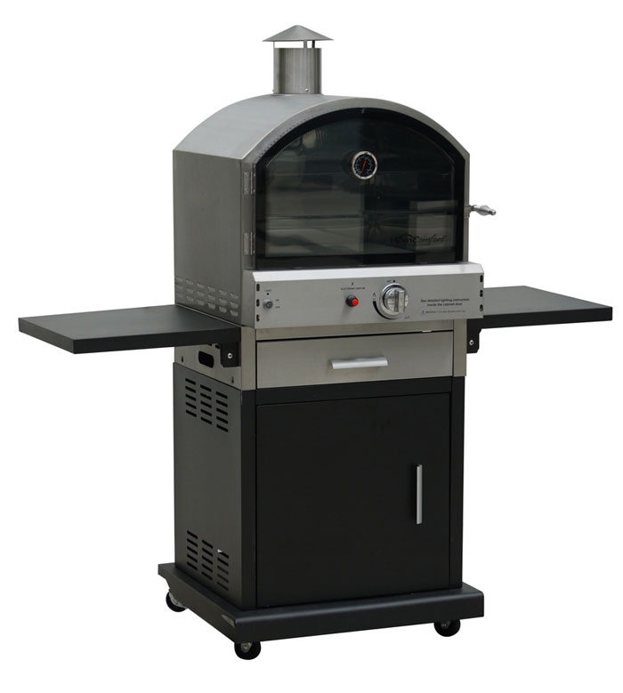 Lifestyle LFS691 Verona Pizza Oven Stainless Steel Black