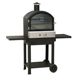 Lifestyle LFS692 Taranto Pizza Oven Stainless Steel Black