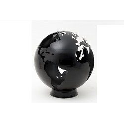 Lifestyle LFS750 Earth Fire Globe Firepit Black