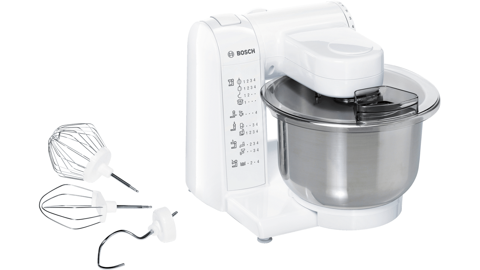 Bosch MUM4807GB Stand Mixer in White