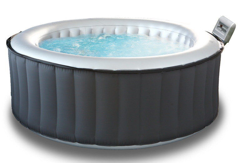 Mspa M-021LS Silver Cloud Inflatable Hot Tub