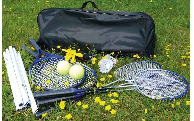 Mightymast Badminton Tennis Combo Set
