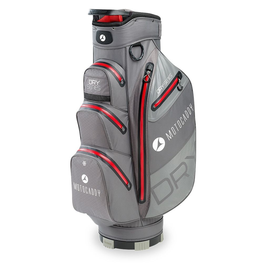 Motocaddy 2020 DRY SERIES CART BAG (CHARCOAL/red)