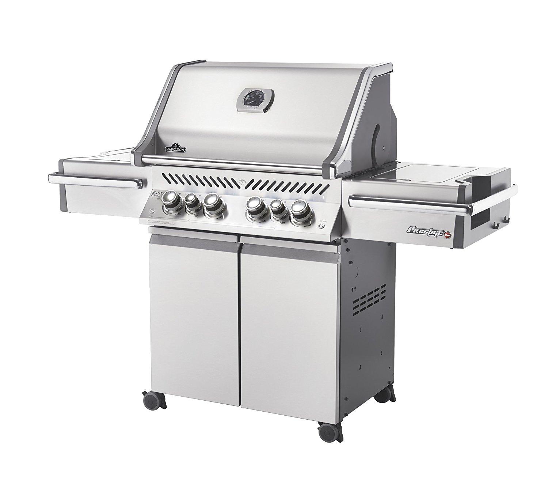 Napoleon PRO500RSIBPSS-2 Prestige PRO 500 6 Burner Gas BBQ