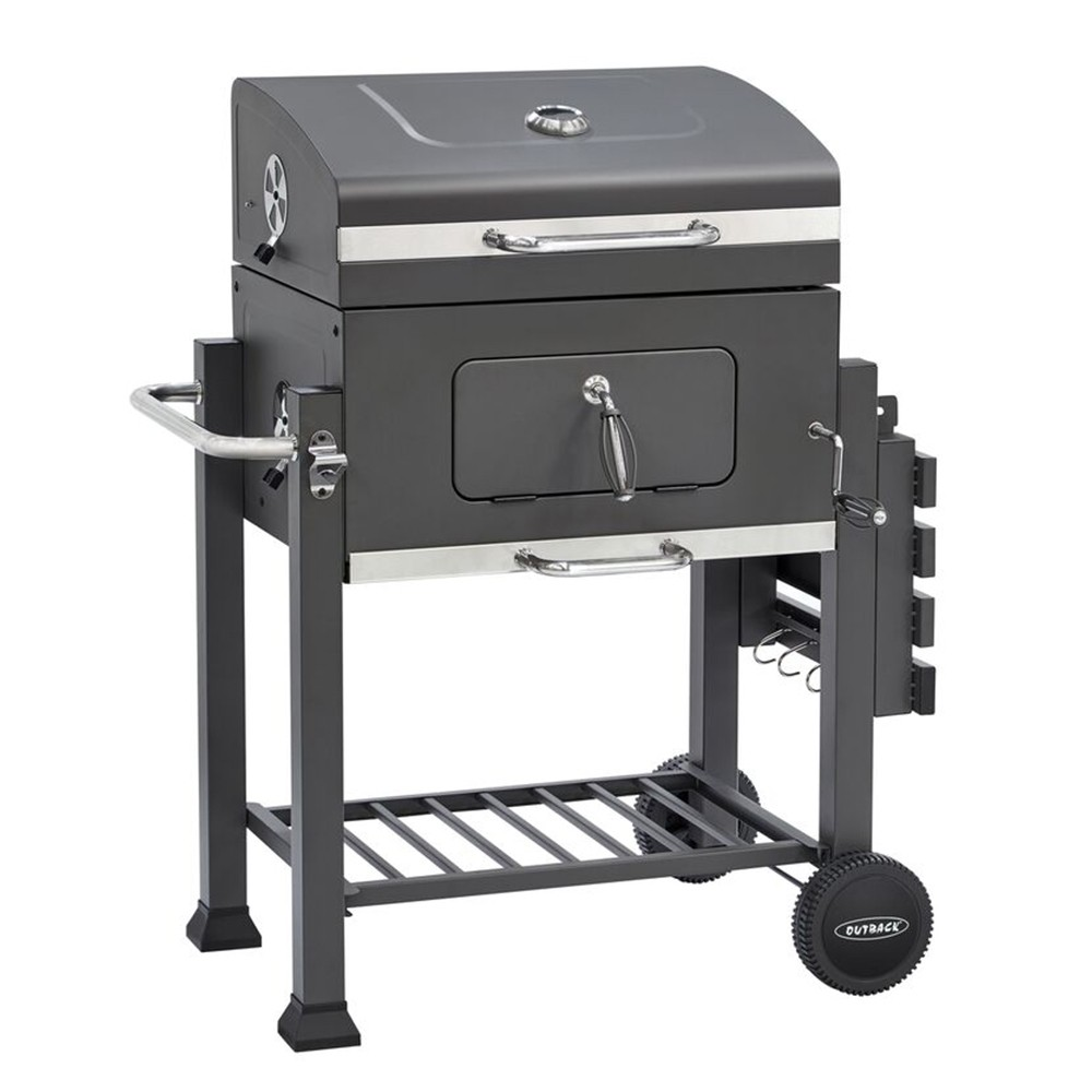 Outback ORION Charcoal BBQ Grill - Black 370714
