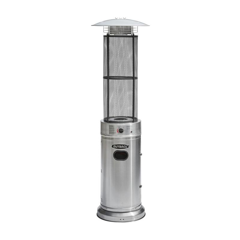 Outback Jupiter Stainless Steel Gas Patio Heater 370663