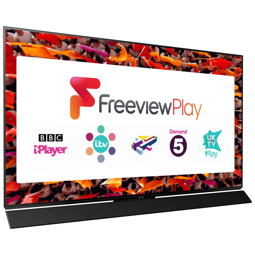 "Panasonic TX-65FZ952B OLED HDR 4K Ultra HD Smart TV, 65"" with Freeview Play/Freesat HD"