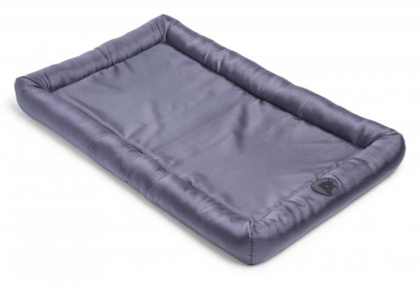 PETFACE 16133 DOG BED WATER RESISTANT MEMORY FOAM BOLSTER MAT GREY XL X1
