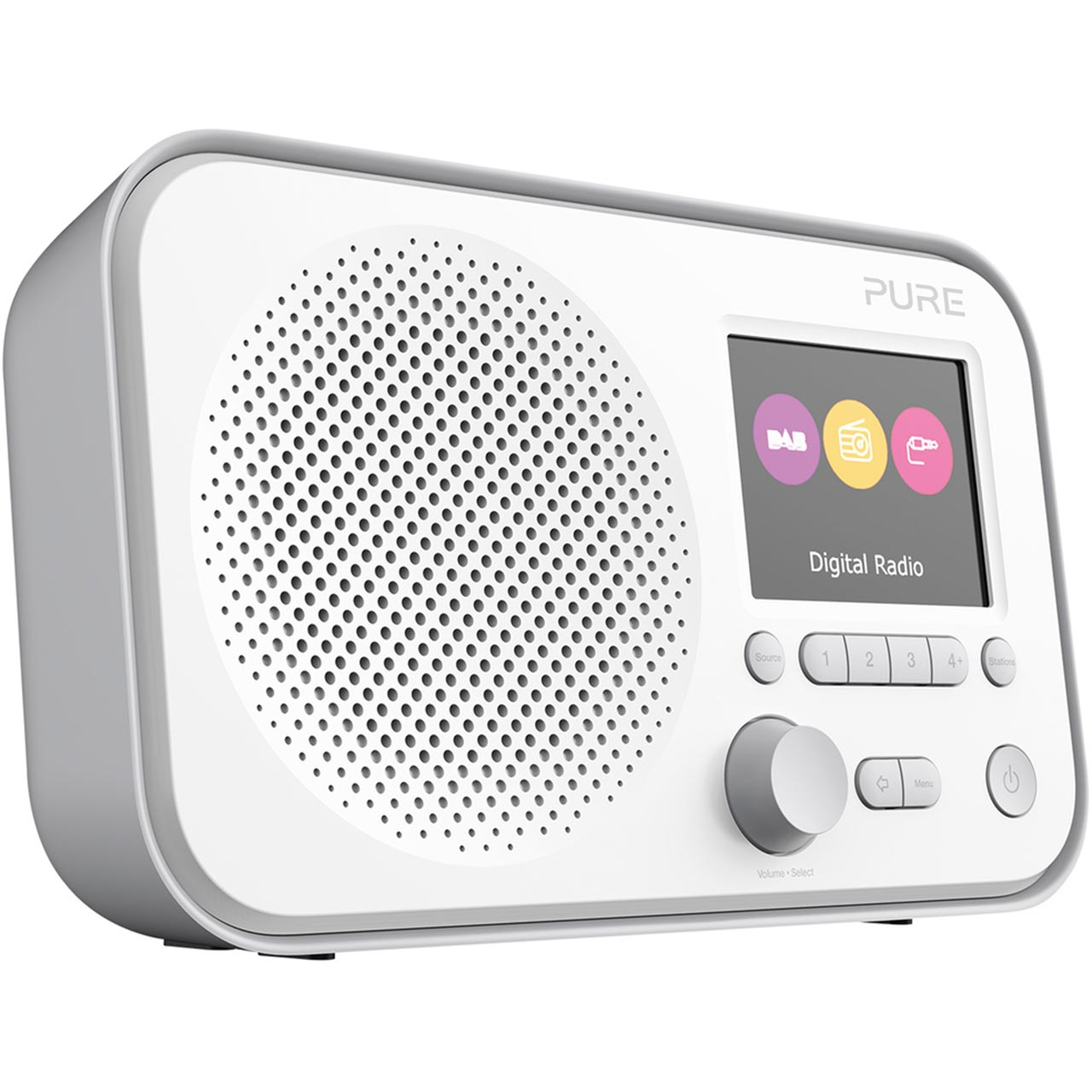 Pure Elan E3 Portable Radio DAB/FM - Grey
