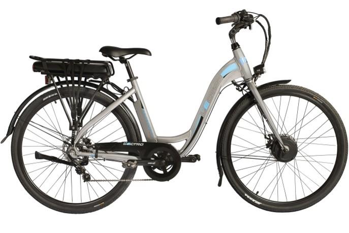 "Lectro Avanti Plus 19"" 36Volt 250w 3 Speed Commute Electric Bike Grey"