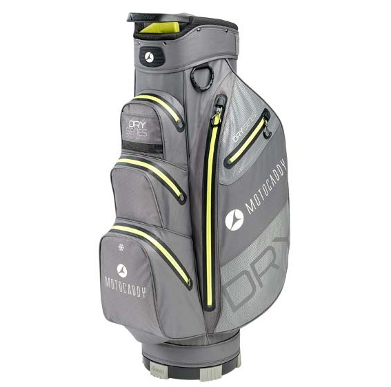 Motocaddy 2020 DRY SERIES CART BAG (CHARCOAL/LIME)