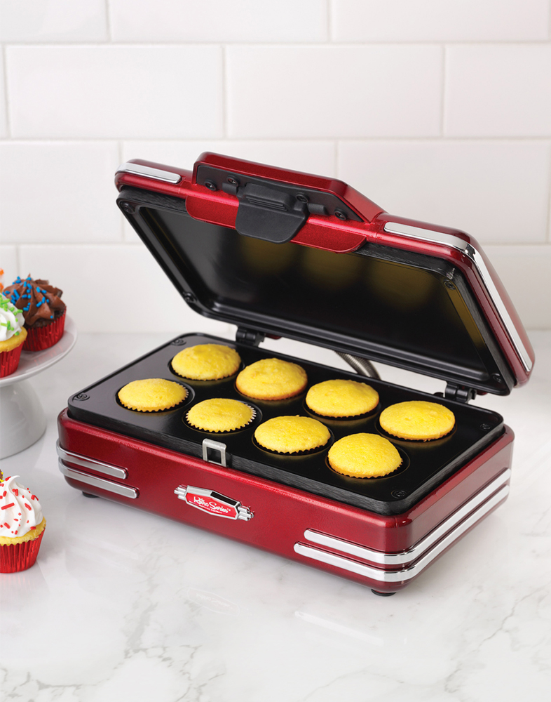 Smart Worldwide RCKM700 Retro Mini Cupcake Maker