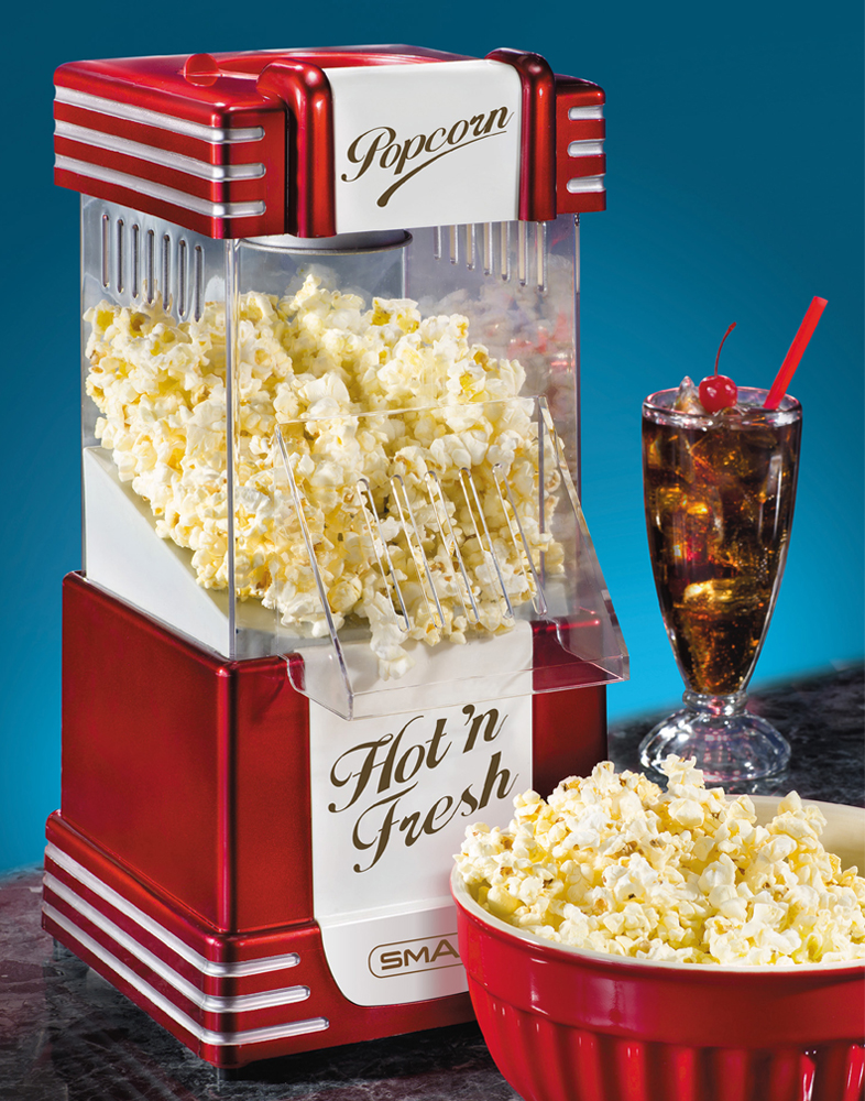 Smart Worldwide RHP625 Retro Popcorn Maker