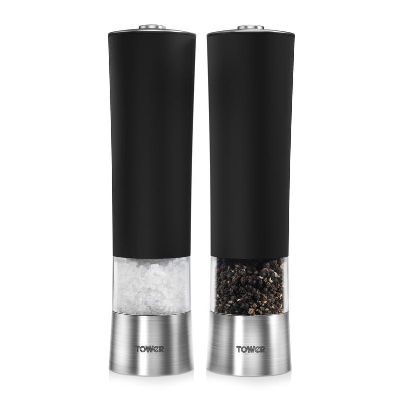 Tower Electric Salt and Pepper Mill T80400