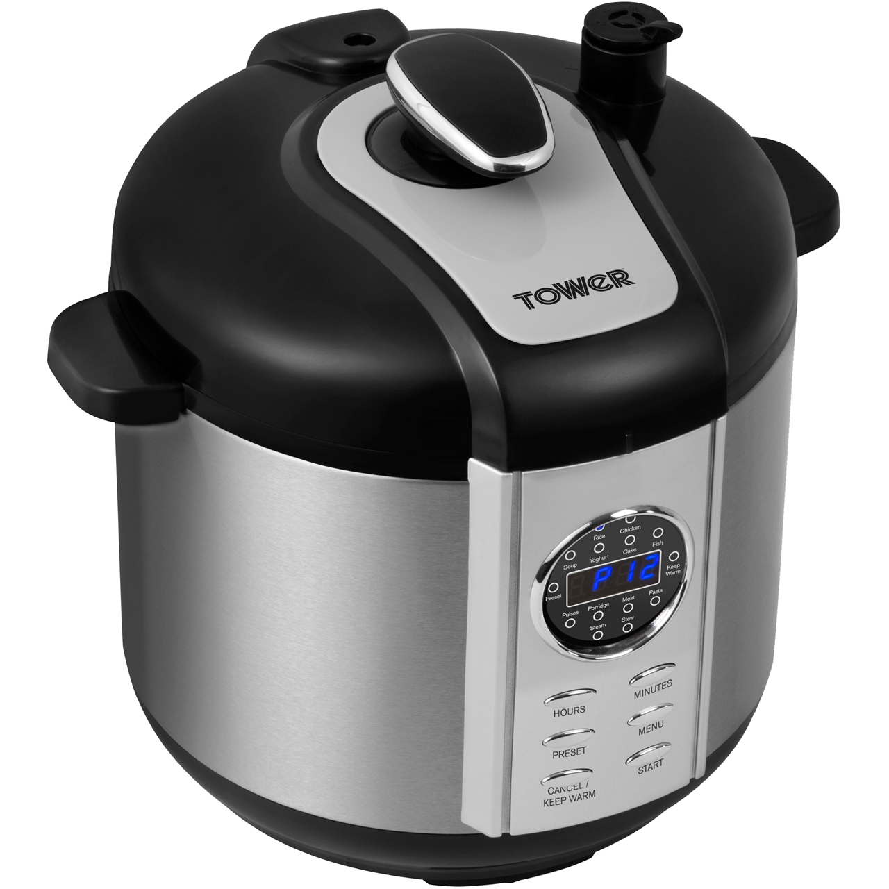 Tower T16005 Pressure Cooker - 1100W - 6 litre