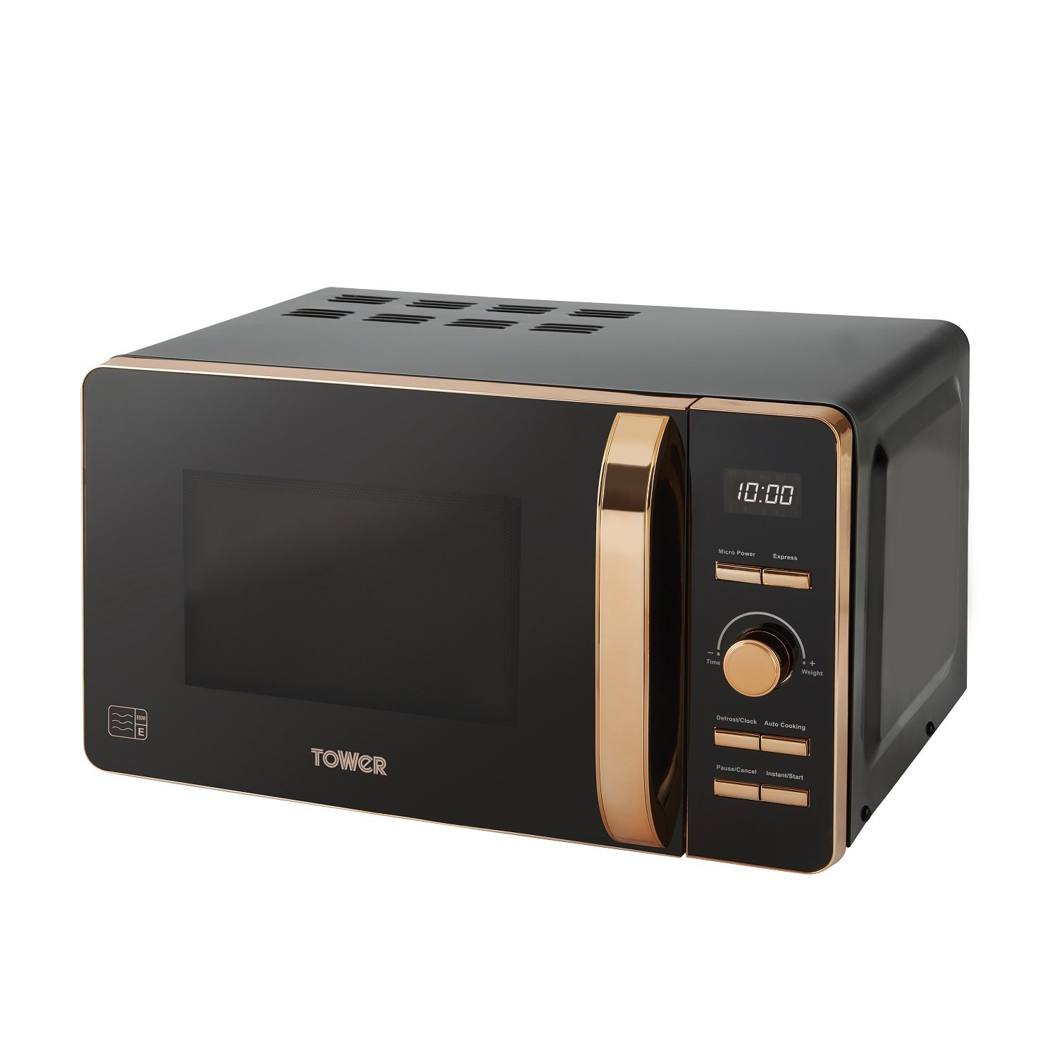 Tower T24021 Digital Solo Microwave with 6 Power Levels