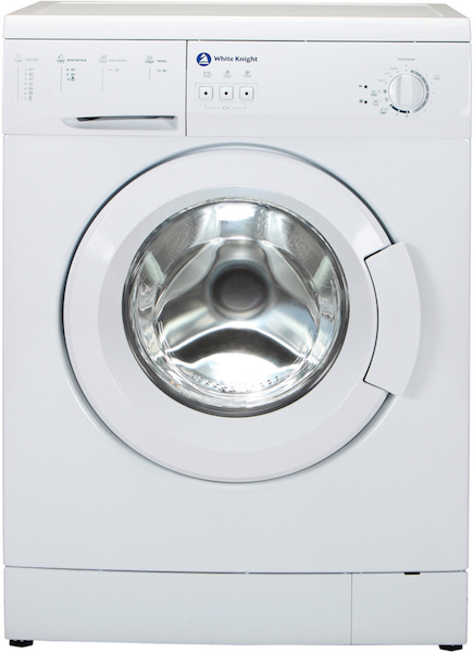 White Knight WM126V 6kg 1200rpm White Washing Machine