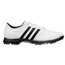 Adidas Golflite 5 WD Size 9 1/2 Golf shoe White and Black