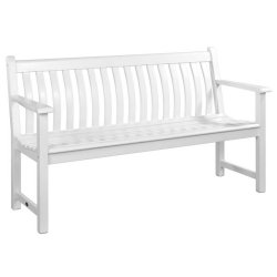 Alexander Rose AR335W Broadfield White Painted 5 foot bench