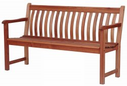 Alexander Rose Broadfield Karri 5 foot GArden Bench AR335