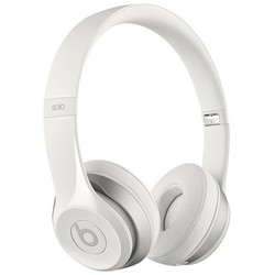 Beats Solo 2 With Mic On-Ear Headphones White